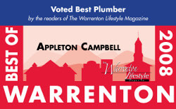 2008 Warrenton Lifestyle Magazine Best of Plumbers