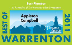 2013 Warrenton Lifestyle Magazine Best of Plumbers