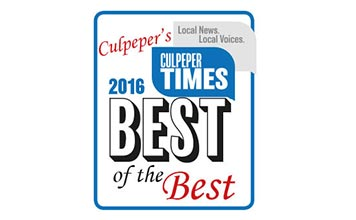 2016 Best of the Best of Culpeper Award