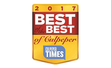 2017 Best of the Best of Culpeper Award