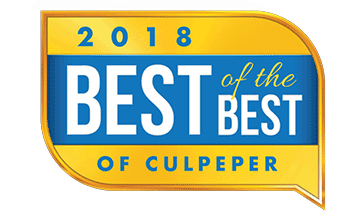 2018 Best of the Best of Culpeper Award