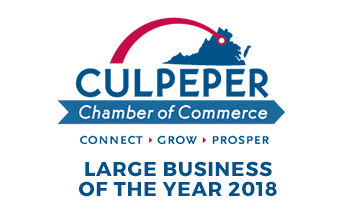 2018 Large Business of the Year Culpeper Award