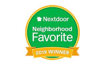 NextDoor Neighborhood Favorite 2019 Award